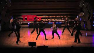 Breakdancing to the violin: Dr. Draw & Gadfly at TEDxToronto