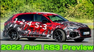2022 Audi RS3 394 HP - Preview