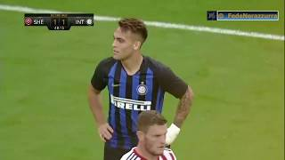 Friendly 4: Lautaro Martinez and Mauro Icardi versus Sheffield United