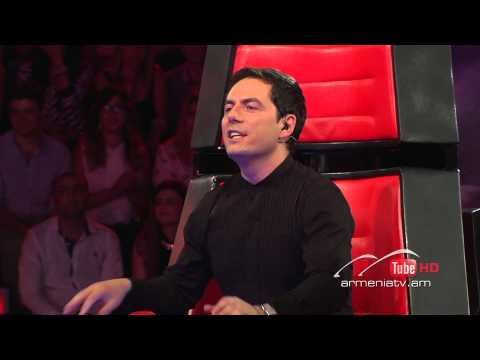 Erna Mirzoyan,Higher Ground -- The Voice of Armenia – The Blind Auditions – Season 3