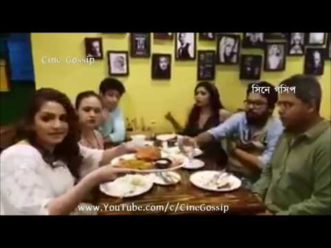 American Cave Restaurant Kolkata | Mir Ritabhari & Gaurav At Tonushree Chakraborty's American Cave