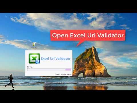 Checking Broken Links(URLs) within Multiple Excel Sheets(Bulk)
