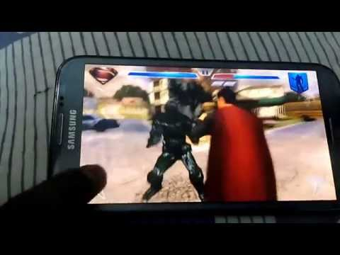 Superman - Man Of Steel Game On Mobile