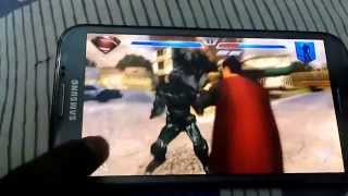 Superman - Man Of Steel Game On Mobile