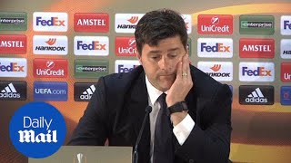 Mauricio Pochettino rues two dropped points against Monaco - Daily Mail