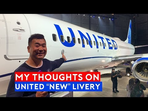 My Thoughts on the New United Airlines Livery