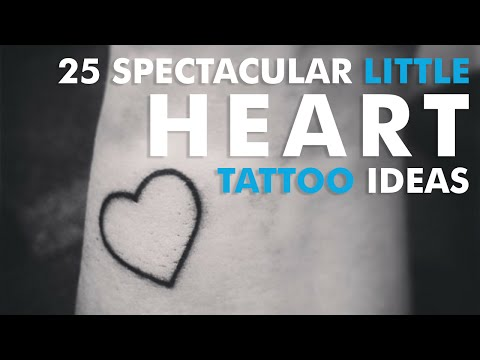 25 Spectacular Little Heart Tattoo Ideas