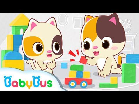 Em muốn chọn màu gì | Mèo con và những màu sắc | Nhạc thiếu nhi vui nhộn | BabyBus