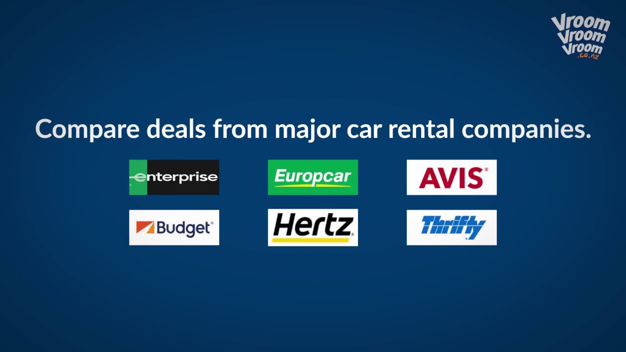 How To Book A Rental Car In New Zealand Youtube