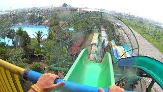 Wailele Water Slide at Hawai Water Park Malang