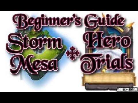 Castle Clash Beginner's Guide Storm Mesa & Hero Trials