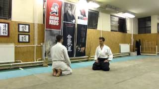suwari waza shomen uchi iriminage [TUTORIAL] Aikido basic technique