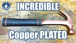 Hammer Restoration & Customization - Copper Electroplated & ...