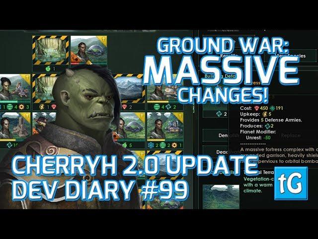 Stellaris Dev Diary #99 – Ground Combat & Army Rework - Cherryh 2.0 Update (2018), Text & Talk