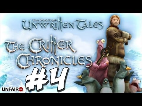 The Book of Unwritten Tales: The Critter Chronicles - Part 4 - Critteru0027s Contraption - Walkthrough