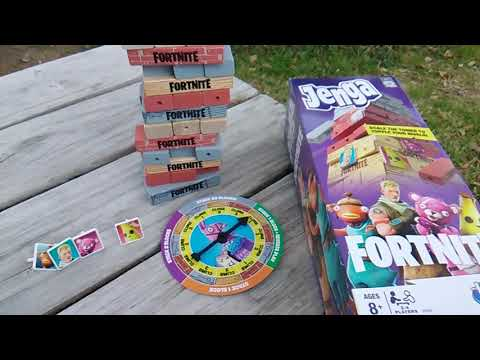 Fortnite Fridays! Jenga Fortnite By Hasbro Gaming!
