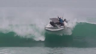 Boat Carnage Taken Out By Wave