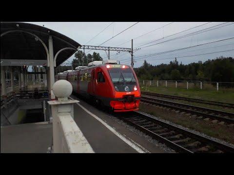 Рельсовый автобус РА2-110, Станция Зеленогорск