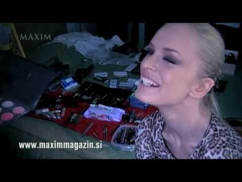 Nadiya Bychkova Maxim Magazine Shoot with fashion photographer Aleš Bravničar