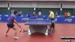 Fan Zhendong Multi Ball Forehand Topspin 2015 - CNT Training Centre