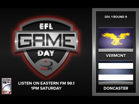GAME-DAY | VERMONT V DONCASTER