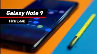 Samsung Galaxy Note 9 im ersten Hands-on