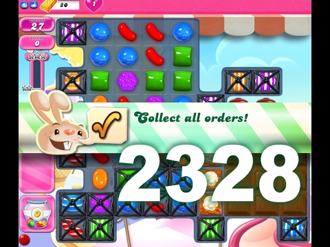 Candy Crush Saga Level 2328 (No boosters)