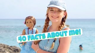 40 FACTS ABOUT ME! - Behind The Dolls