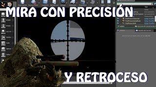 Unreal Engine 4: Mira con precisión y retroceso (Español)
