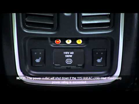 2013 Jeep Grand Cherokee | Electrical Power Outlet - YouTube