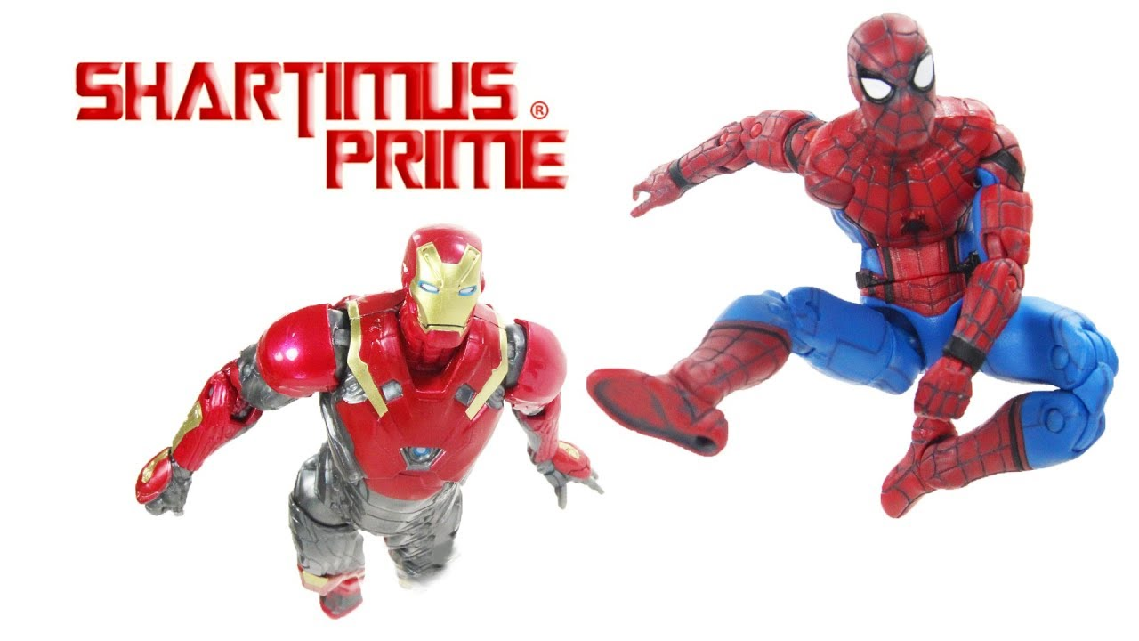 "Hasbro Marvel Legends 6/""  Iron Man Mark 50 /& Iron Spider Man Box Set  New"