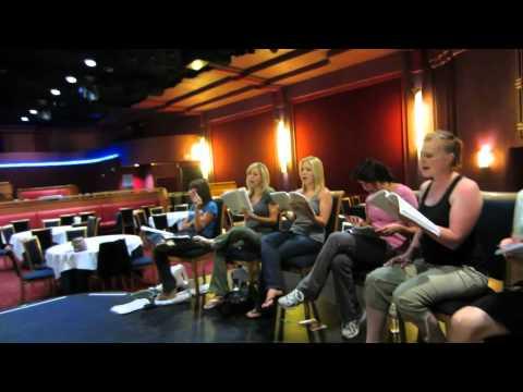 Xanadu - Rehearsal week 1