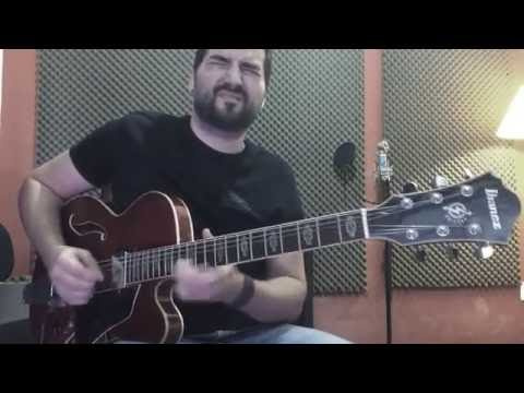 Jazz Blues - Ibanez Art Core AFS 75T