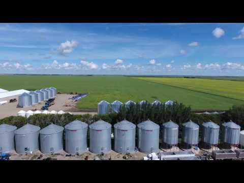 Canadian Farmers. Delage Farms. Indian Head, Saskatchewan, Canada. (4K Video) #MYAGROTOURS