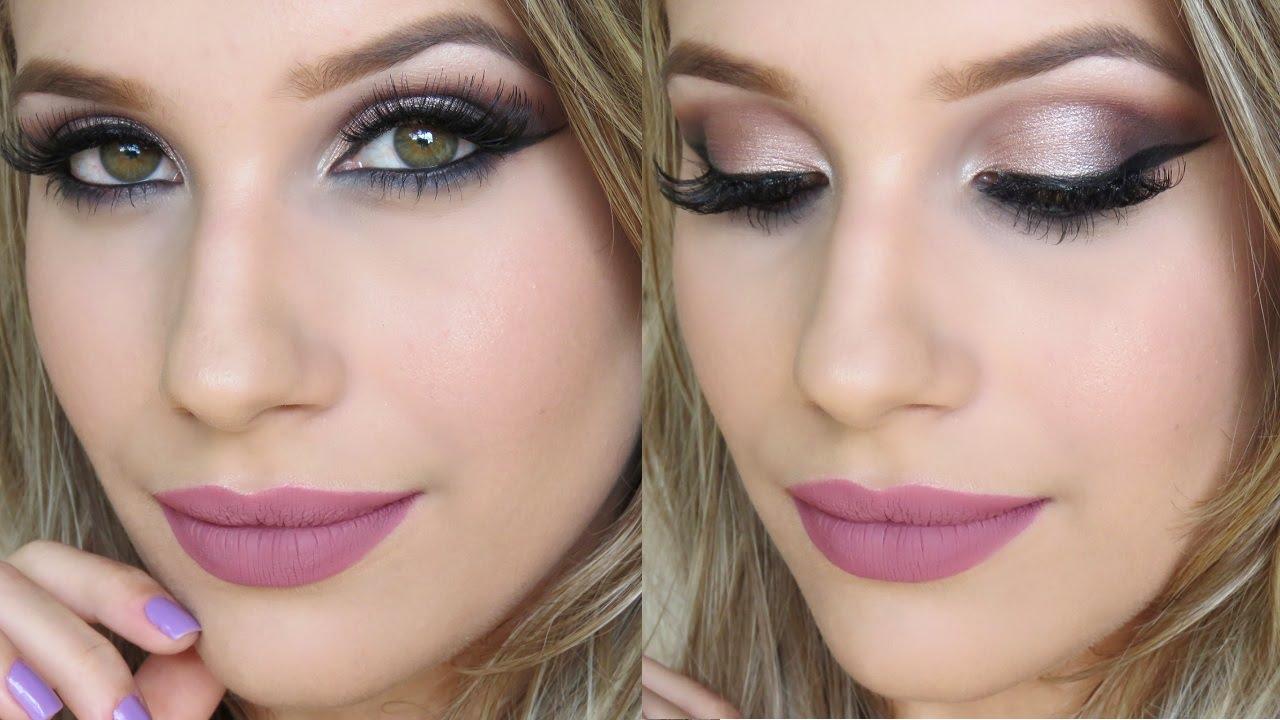 Suficiente Maquiagem para Madrinha de Casamento - YouTube QX15