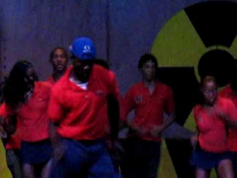 Grand Palladium Resort Jamaica November 2009 POP Entertainment Team, Go Bond, Go Superman!