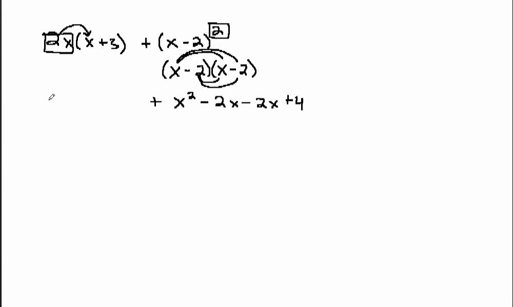 Perform operations on polynomial expressions without direction 1 – Operations with Polynomials Worksheet
