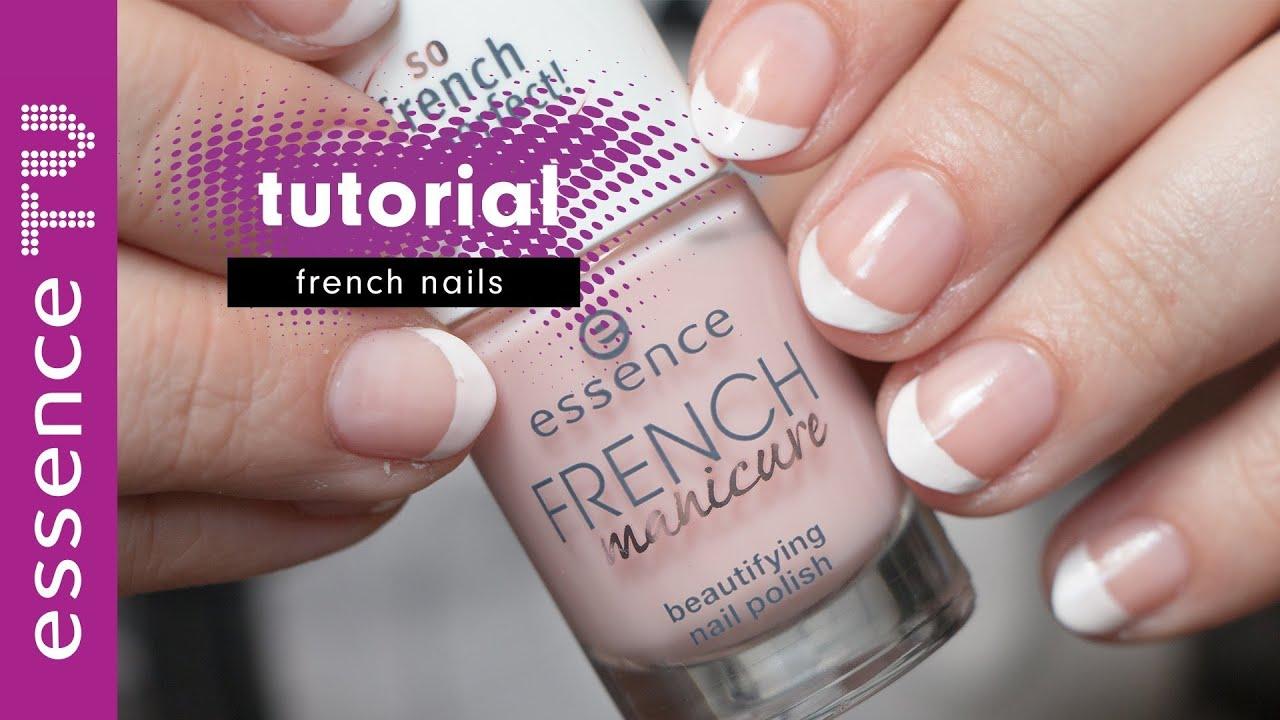 French Nails Tutorial Deutsch Fur Anfanger French