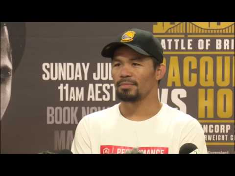 Manny Pacquiao must face Errol Spence Jr or Keith Thurman to get a Mayweather Rematch
