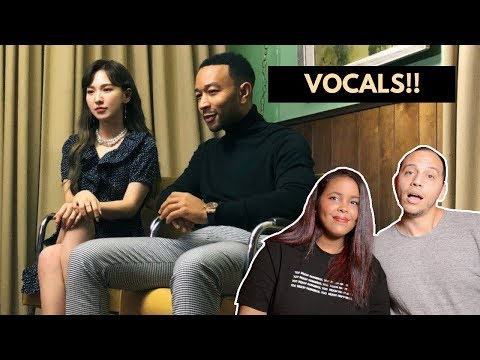 John Legend X WENDY 'Written In The Stars' MV REACTION (RED VELVET REACTION)