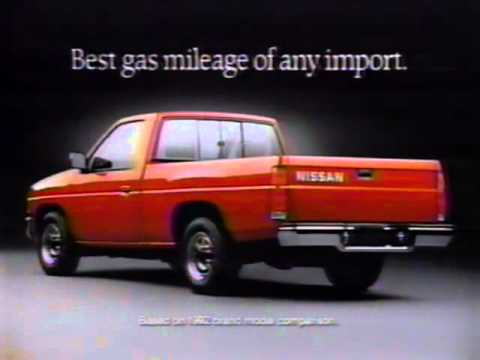 1993 Nissan Hard Truck Commercial Ad - YouTube