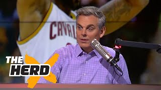 Colin's message to NBA critics ahead of Game 3 of 2017 NBA Finals | THE HERD