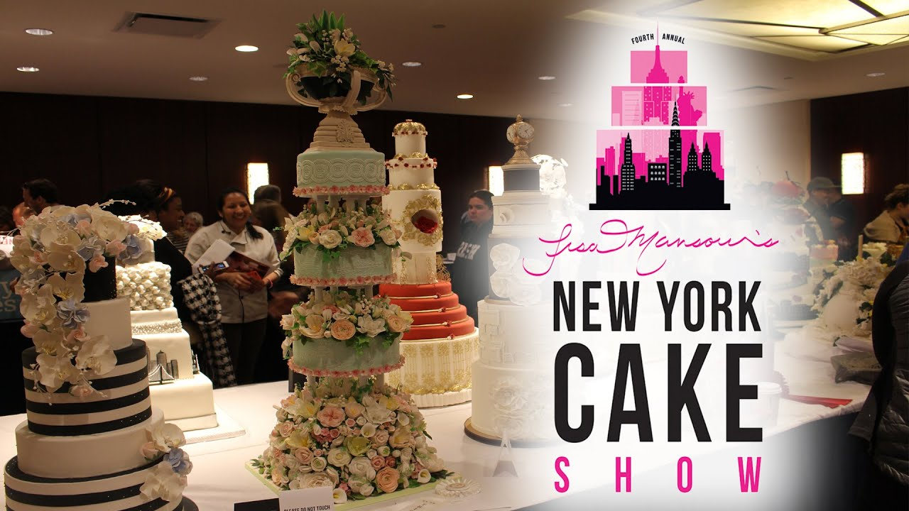 Cake Design Competition Show : New York Cake Show 2016 Julia Fedorova Cakes - YouTube