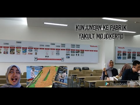 PABRIK YAKULT MOJOKERTO-PT YAKULT INDONESIA PERSADA