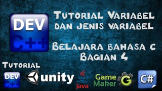4 Tutorial Variabel dan Jenis Variabel Bahasa C bagian 4 - Belajar Bahasa C menggunakan Dev-C++