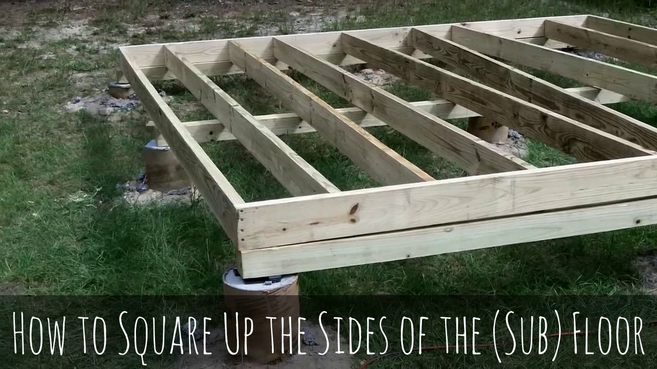 Awesome How To Build A Shed Pt. 2: How To Build A Shed Floor Frame And How To Build  A Storage Shed Floor DIY