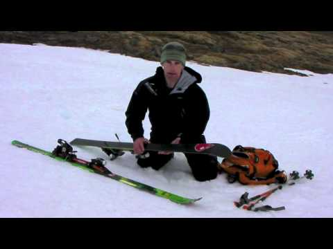 Ski Touring - Top Tips for Applying your Skins with Glenmore Lodge