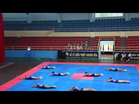 Bài thi thể dục aerobic trường  PTTH Trần Bình Trọng-Cam Lâm- HKPĐ Khánh hòa 2012