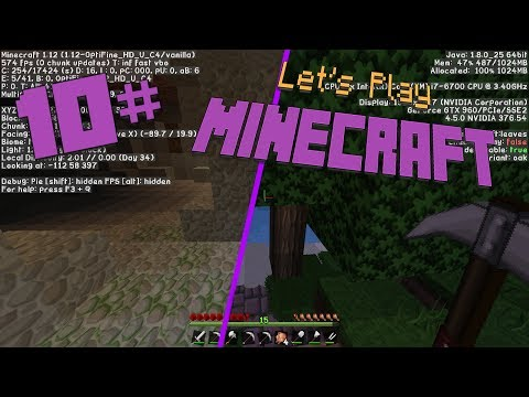 Let's PLay Minecraft 10#   Eine Mining Tour