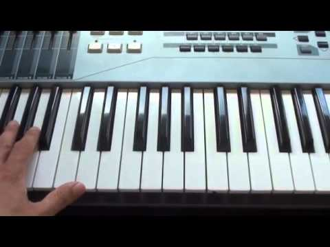 How to play Nightingale on piano - Demi Lovato